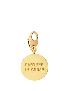 partners in crime charm by kate spade new york