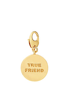 true friend charm by kate spade new york