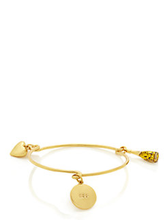 friendship spirit charm bangle by kate spade new york