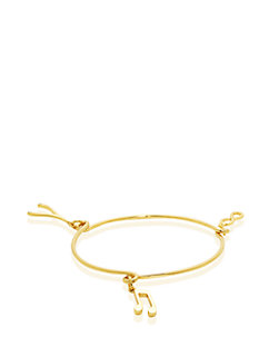 friendship well wishes charm bangle by kate spade new york