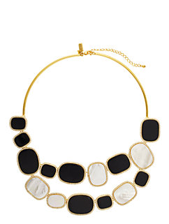 madison ave. collection empire pave bib necklace by kate spade new york