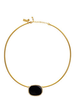 madison ave. collection empire pave collar pendant by kate spade new york