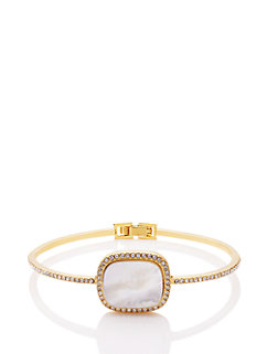 madison ave. collection empire pave hinge bangle by kate spade new york