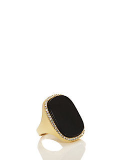 madison ave. collection empire pave ring by kate spade new york