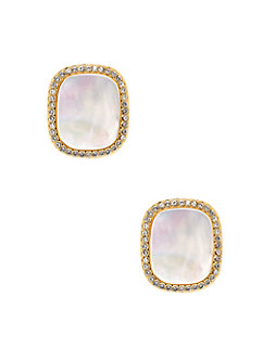 madison ave. collection empire pave studs by kate spade new york