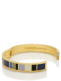 chase rainbows hinged idiom bangle by kate spade new york