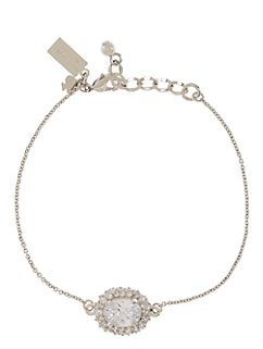 sweet sparkle solitaire bracelet by kate spade new york