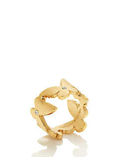 all a flutter ring by kate spade new york