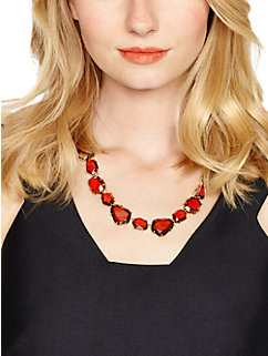 madison ave. collection pull out all the stops collar necklace by kate spade new york