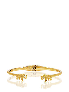 golden elephant cuff by kate spade new york