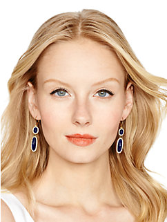 park & lex double drop earrings by kate spade new york