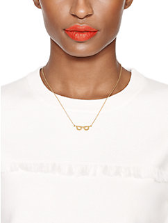 goreski glasses mini pendant by kate spade new york