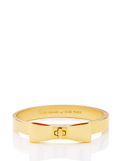 perfectly placed hinged bow bangle by kate spade new york