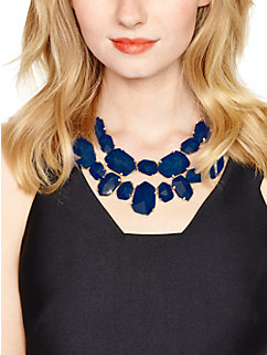 quarry gems statement necklace by kate spade new york