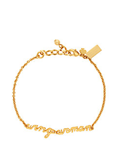 say yes wing woman bracelet by kate spade new york