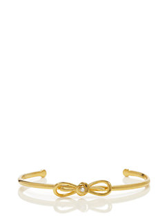 dainty sparklers bow cuff by kate spade new york