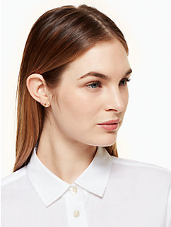 dainty sparklers bow studs by kate spade new york