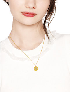 pave initial letter pendant by kate spade new york
