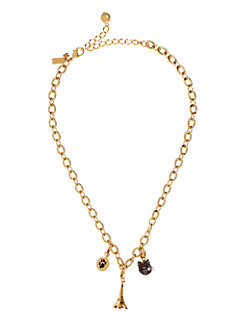 charm link necklace by kate spade new york
