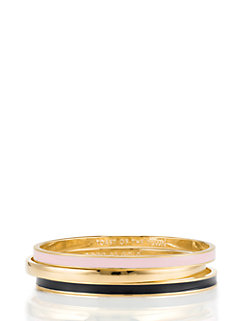friendship idiom bangles (set of three) by kate spade new york