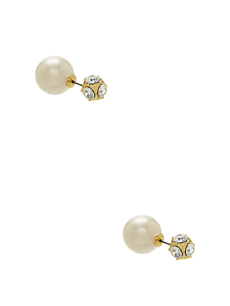 dainty sparklers reversible earrings by kate spade new york