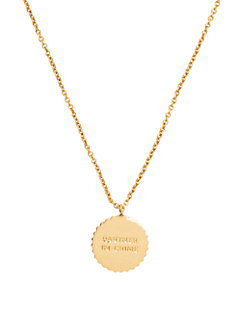 say yes partners in crime pendant by kate spade new york