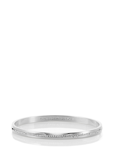 pave bridesmaid idiom bangle by kate spade new york
