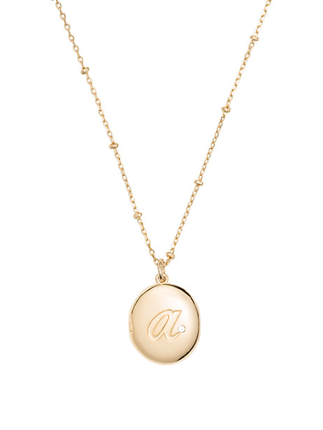 forever mine initial locket by kate spade new york