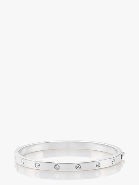 set in stone stone hinged bangle by kate spade new york