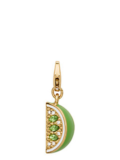 lime charm by kate spade new york