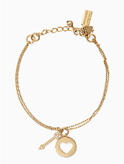 be mine cluster charm bracelet by kate spade new york