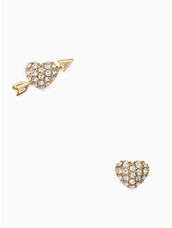 be mine heart and arrow studs by kate spade new york