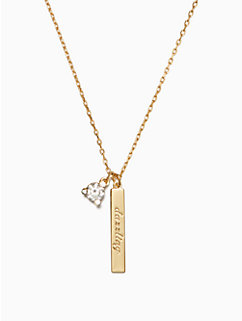 born to be april pendant by kate spade new york