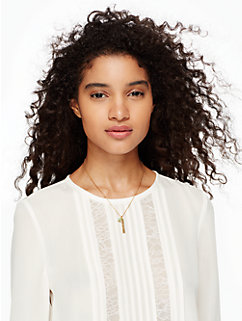 born to be august pendant by kate spade new york