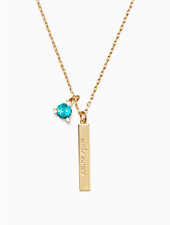 born to be december pendant by kate spade new york