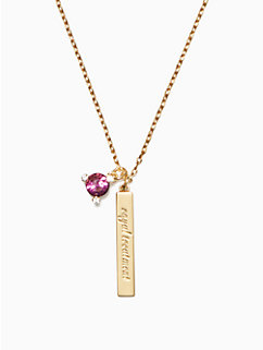 born to be february pendant by kate spade new york