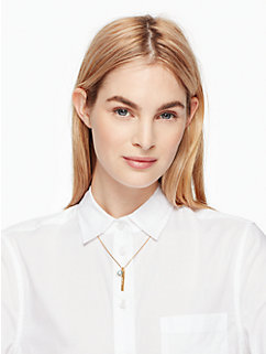 born to be march pendant by kate spade new york