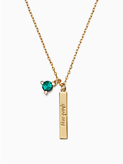 born to be may pendant by kate spade new york