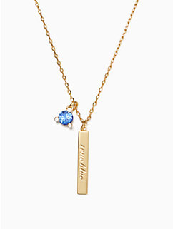 born to be september pendant by kate spade new york