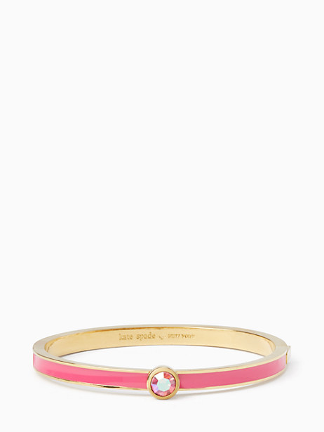 Kate Spade Forever Gems Stone Bangle, Pink