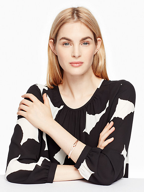 get connected pave loop bangle by kate spade new york