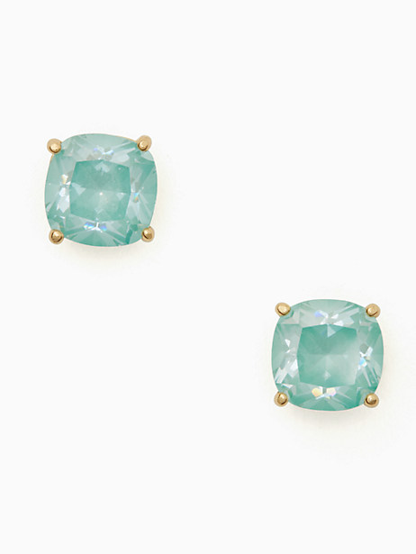 enamel mini small square studs by kate spade new york