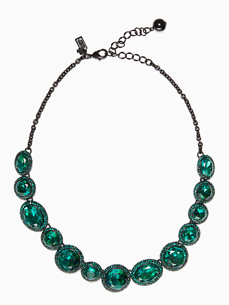 Kate Spade Absolute Sparkle Necklace, Green