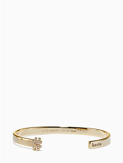 #livecolorfully bestie cuff by kate spade new york