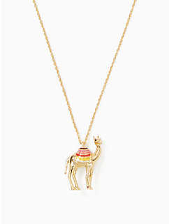 spice things up camel mini pendant by kate spade new york