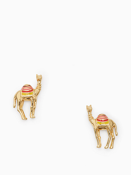 Kate Spade Spice Things Up Camel Studs