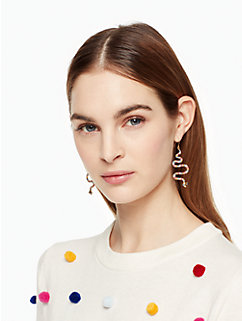spice things up snake drop earrings by kate spade new york