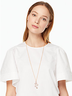 spice things up snake pendant by kate spade new york