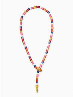 spice things up snake statement necklace by kate spade new york