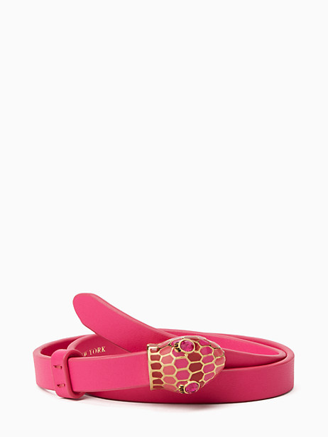 Kate Spade Spice Things Up Snake Wrap Bracelet, Pink